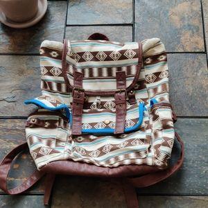 Mossimo Supply Company Tribal Print Mini Backpack